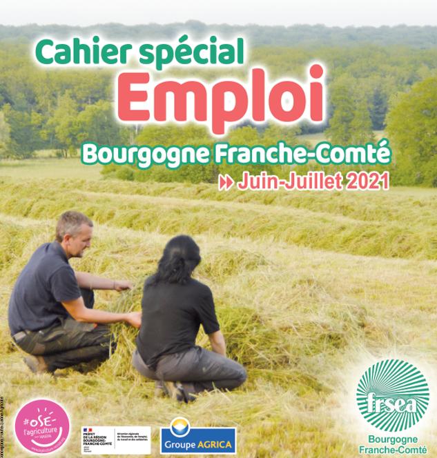 Le cahier spécial EMPLOI de Bourgogne-Franche-Comté